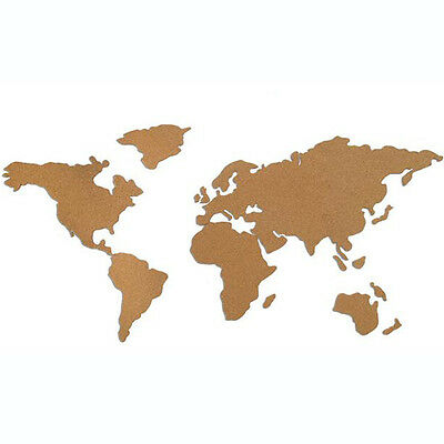 Wall World Map Office School Home Decoration