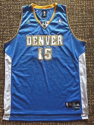 c957178f1 MENS VTG NBA Denver Nuggets  15 Carmelo Anthony Adidas EUC Jersey Sz ...