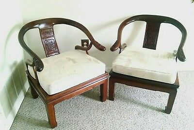 Solid rosewood ming style chairs