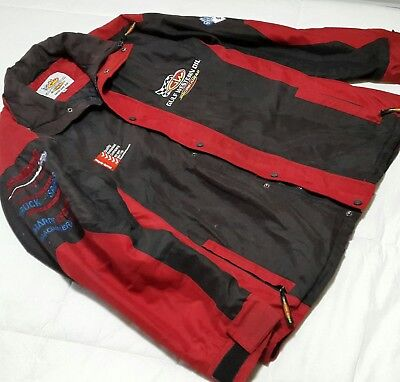 Gulf Western Oil Racing Winter Jacket Mens Xl