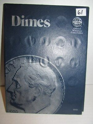 (61) DIMES COLLECTION BOOK ~ SELF COLLECTION Lot 191