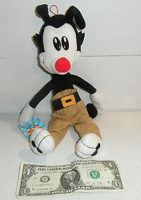 "NEW Animaniacs Yakko Ace 1994 12"" Plush Doll Figure with Tags Warner Bros NOS"