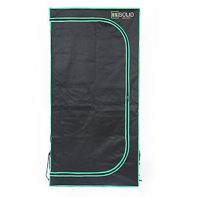 U.S.Solid Grow Tent Grow Room Hydroponic Tent Highly Reflective Mylar