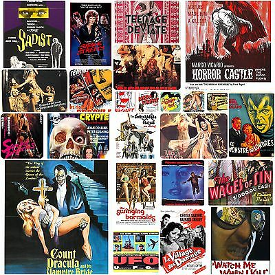 B-movie and horror movie poster dvd collection 5800 posters high res. to print