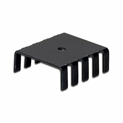 SS113 Aluminum Black Heatsink Heat Sink Audio Amplifier