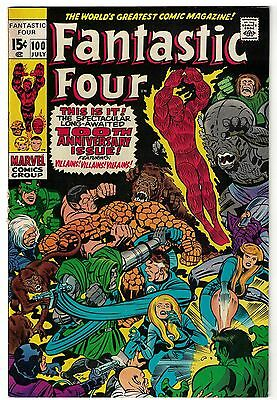 Marvel Comics FANTASTIC FOUR Issue 100 Spectacular Anniversary Issue! FN