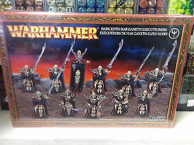 Dark Elves Executioners Black Guard Age of Sigmar Warhammer Fantasy Sealed