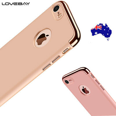 iPhone 6 6S 7 Plus Ultra-Thin Luxury Shockproof Matte Hard for Apple Case Cover