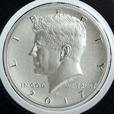 2017 S 225th Anniversary Enhanced Uncirculated Kennedy 50C Mint Fresh