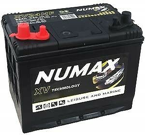 Numax XV24MF 12V 86AH CXV Sealed Leisure Battery for Leisure & Marine Range