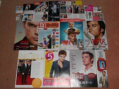 25+ MICHAEL C. HALL Magazine Clippings