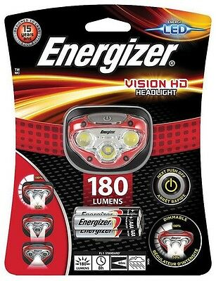Energizer Vision Hd Headlight Bright Led 180 Lumens  Batteries Included  34404