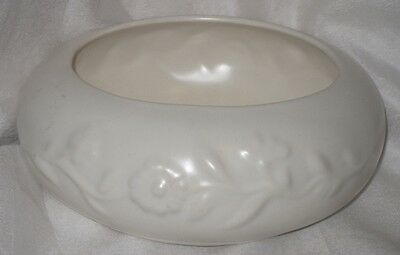 Vintage Raynham Pottery Floral Vase Round Trough with original stickers