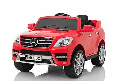 Lizenz Kinder Elektro Auto Mercedes ML350 2x 25W 12V 2.4G RC TOP SELLER