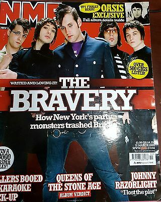 Nme Magazine March 2005 - The Bravery- Oasis- The Killers