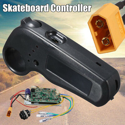 Motor Electric Controller  W/ ESC Control Module Cable for Longboard Skateboard