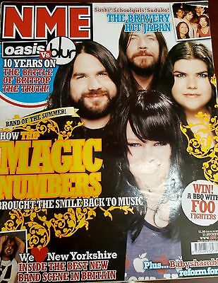 Nme Magazine August  2005 - The Magic Numbers- The Bravery- Babyshambles