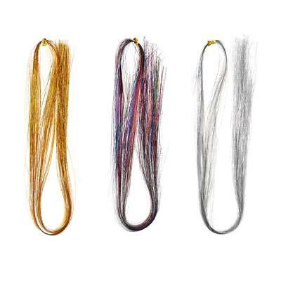 Fly Fishing Tying Crystal Flash String Jig Hook Flashing Fly Tying Materials