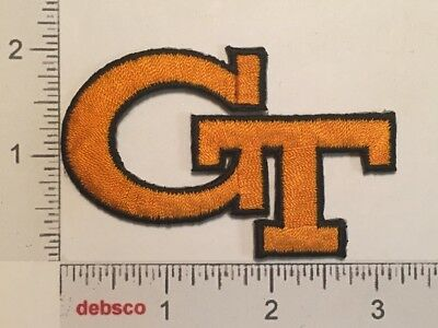GEORGIA TECH YELLOW JACKETS Institute of Technology Sports Team PATCH