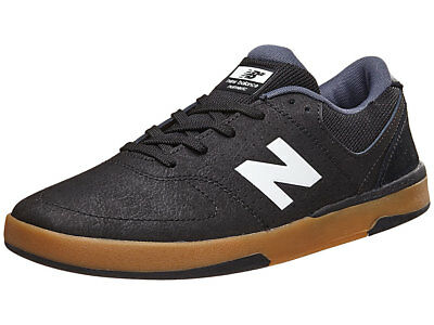 New Balance Numeric - PJ 533 Mens Shoes Black/White/Gum
