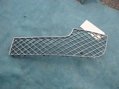 Bentley Gtc Gt left driver side center bumper grill chrome used