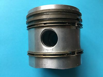 Ducati single Cadet 125/4 Piston and rings NOS 1mm oversize