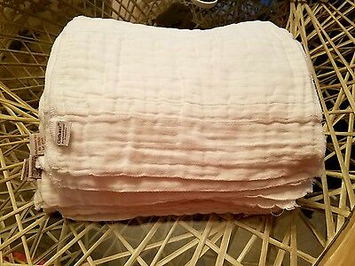 GMD Green Mountain Diapers Clotheez Bleached Preemie Prefolds Lot of 23