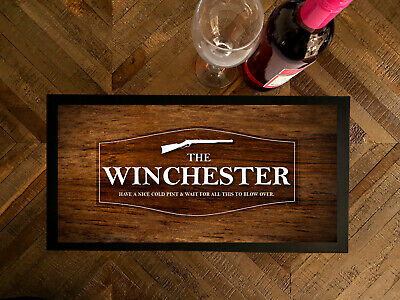 The Winchester Shaun of the Dead Wood effect Bar runner pubs clubs & Cocktail