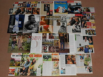 40- BRYAN BROWN Magazine Clippings