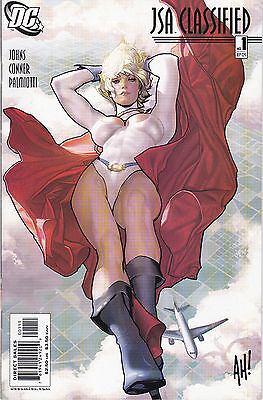 Jsa: Classified 1 - Adam Hughes Cover (Modern Age 2005) - 9.2