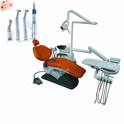 Dental Conjoined Dental Unit Chair Computer Controlled + Joy Handpiece Kit Free