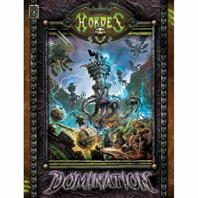 Hordes - Domination - Hardcover - New - Nerdy Nerd