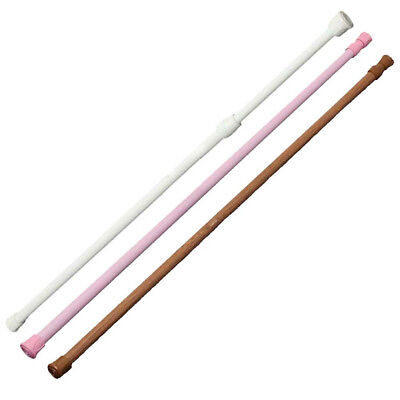 Extendable Spring Loaded Telescopic Tension Curtain Rod Adjustable up-to-date