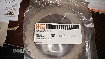 Case / J I CASE. Plate. A 33012/ A33012. Old Stock