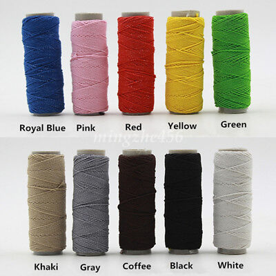 30M Elastic Stretch Round Beading Cord Braided DIY Craft Bracelet String Rope