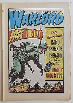 WARLORD Comic #338 - 14th March 1981