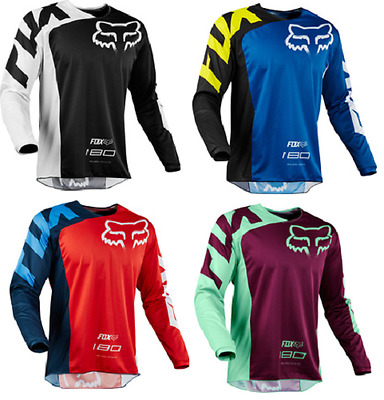 Fox Racing 180 Race Adult, Men's Race Jersey Mx Dirtbike Offroad Atv Shirt