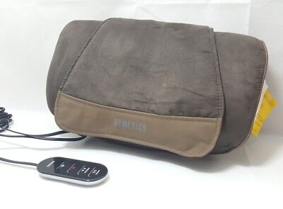 Homedics Shiatsu SP-39H Cushion Back Neck Shoulder Lumbar Heated Delux Massager