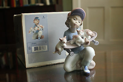 "Limited Edition: 1994 LLADRO EVENT FIGURE  ""LITTLE RIDERS""  7623 (Retail> $350)"