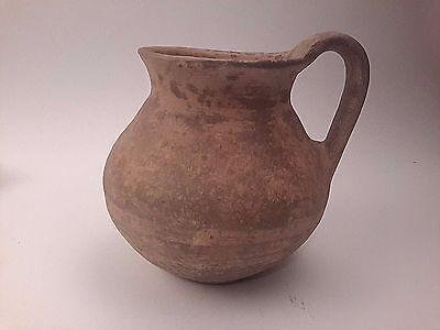 Ancient Roman Terracotta Jug Pitcher Pottery 50 BC - 100 AD