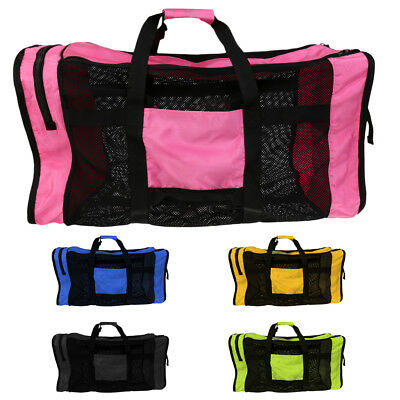 Travel Mesh Dive Gear Backpack Bag for Water Sports Scuba Diving Beach