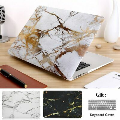 "6 Color Marble Hard Case Cover Skin For Macbook Air Pro 11""12""13""15 +KB Cover"