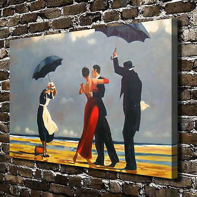 """Beach dance Paintings HD Canvas Print 16""""x24""""Home Decor Painting Wall Picture"""