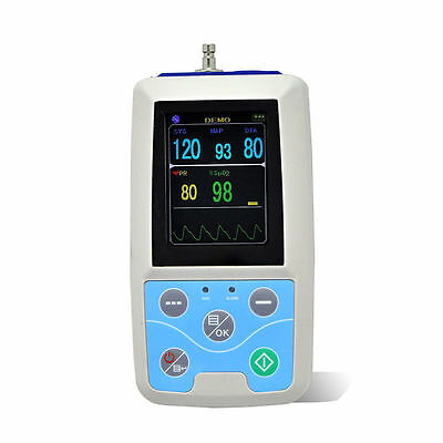 Portable ICU Monitoring Vital Signs Patient Monitor NIBP+SPO2+PR,USB PC Software