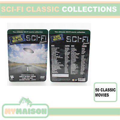 Sci Fi Classics 50 DVD Movies Ultimate Collection Blockbuster Films