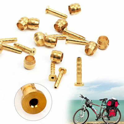 10 Pair Bicycle Connector Insert and Olive for SHIMANO BH59 Hydraulic Brake Hose