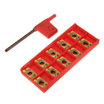 10pcs APMT1604PDER M2 VP15TF Carbide Inserts 25R0.8 Cutters For Milling Tools