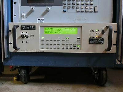 Tested - Pacific Power AC Power Source Model 115ASXT-UPC1
