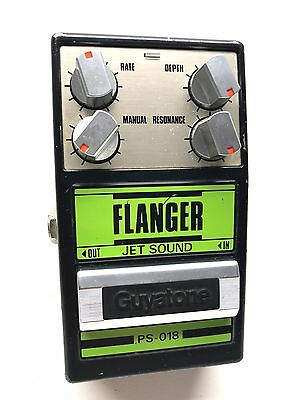 Guyatone PS-018, Flanger, Jet Sound, Made In Japan, 1980's, Guitar Effect Pedal