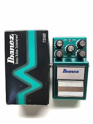 Ibanez TS9B, Bass Overdrive, Original Boxing, Bass Effect Pedal